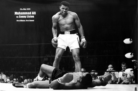 Muhammad Ali vs. Sonny Liston, Lewiston, Maine, 1965