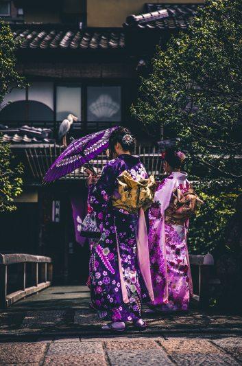 geisha back